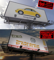 Billboard Large 1 - HD 3D billboard