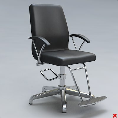 barber chair 3ds
