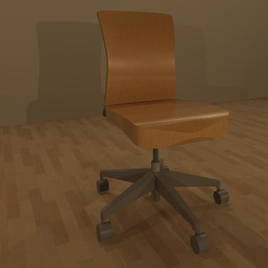 3d 3ds office chair