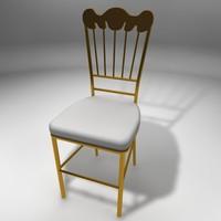 chair napoleon 3ds