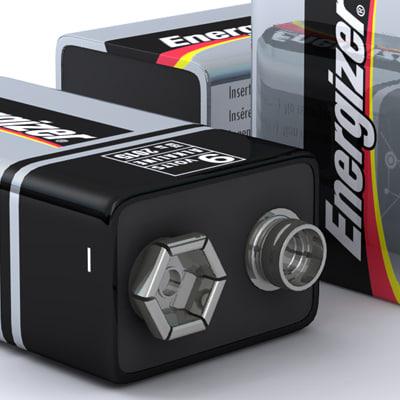 3d 3ds 9 volt energizer battery