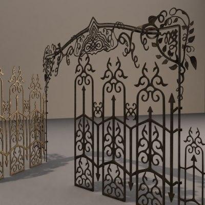 3d gate c model