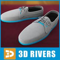 3d model jogging sneakers