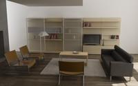 living room 03c 3ds