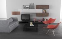 living room 04b 3d obj