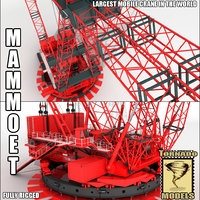 Largest Mobile Crane in the World ( Mammoet PTC) RIgged