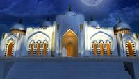 masjid exterior 3d model