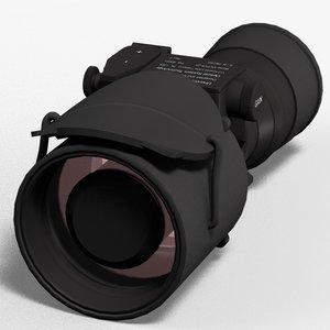 3d night vision model