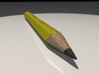 Pencil High Detail Yellow