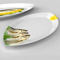 3d fish plate