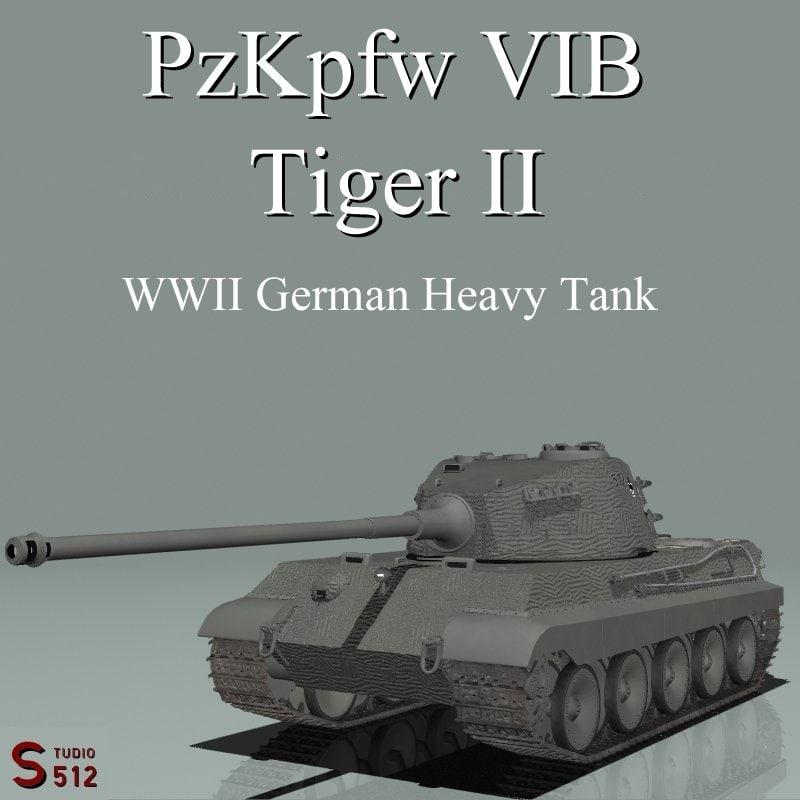lightwave king tiger tank pzkpfw