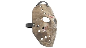 jason mask 3d model