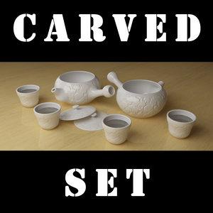 tea set stack max