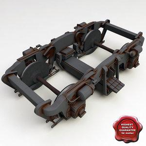 3d train wheels v2
