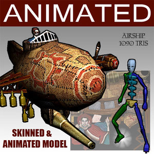 glest animation 3d model