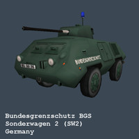 german sw2 bgs federal 3d 3ds