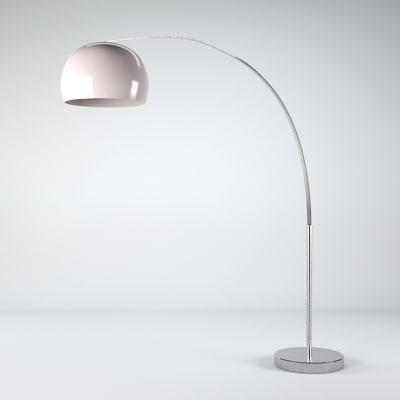 bigbow lamp light 3d model