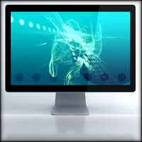 3ds max generic 24 inch led
