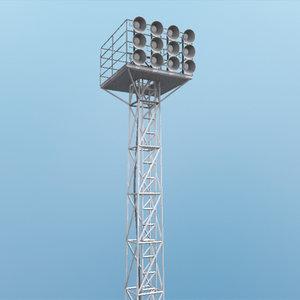 field lighting 3d model