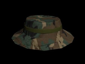 military human helmet 3d max