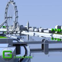 3d model london