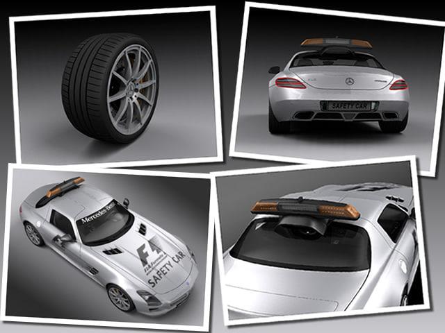 3d model car safety