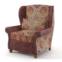 Tetrad Naomi English Wing Armchair