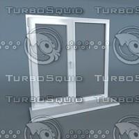 window plastic 3d max