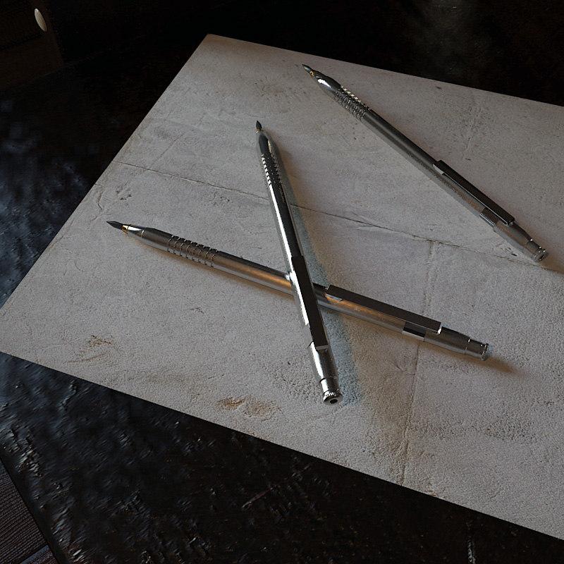 3d criterium lead pencil
