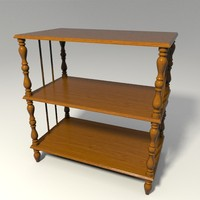 3ds shelf base