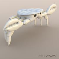 free citizen-snips ploy crab 3d model