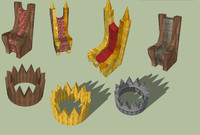 Throne and Crown Model Pack