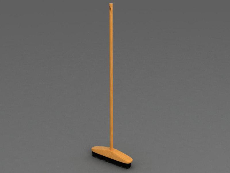 broom 3d model