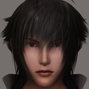 3ds max form noctis lucis realistic male