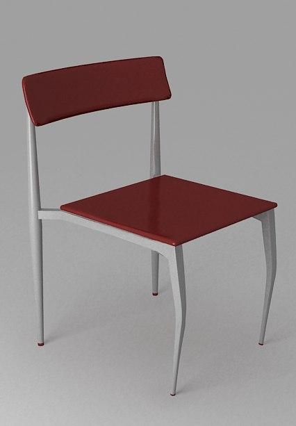 chair sandalye 3d model