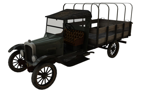 vehicle truck 3d model