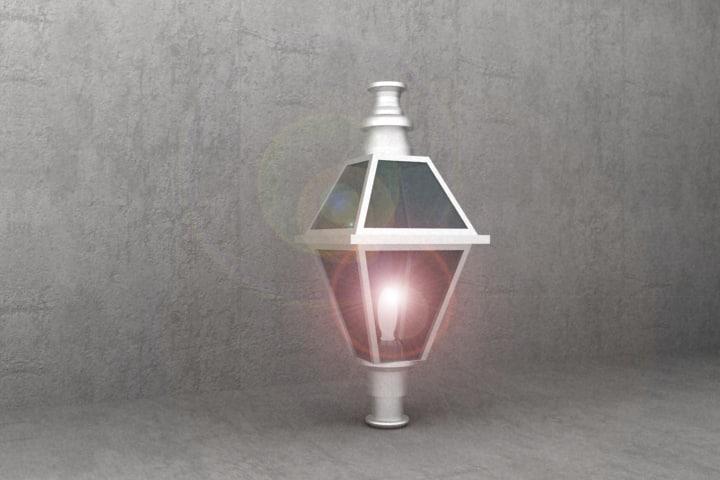 antique luminaire dl42 3ds
