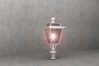 3d antique luminaire sg36 model