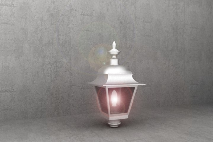 antique luminaire tr35 3d model