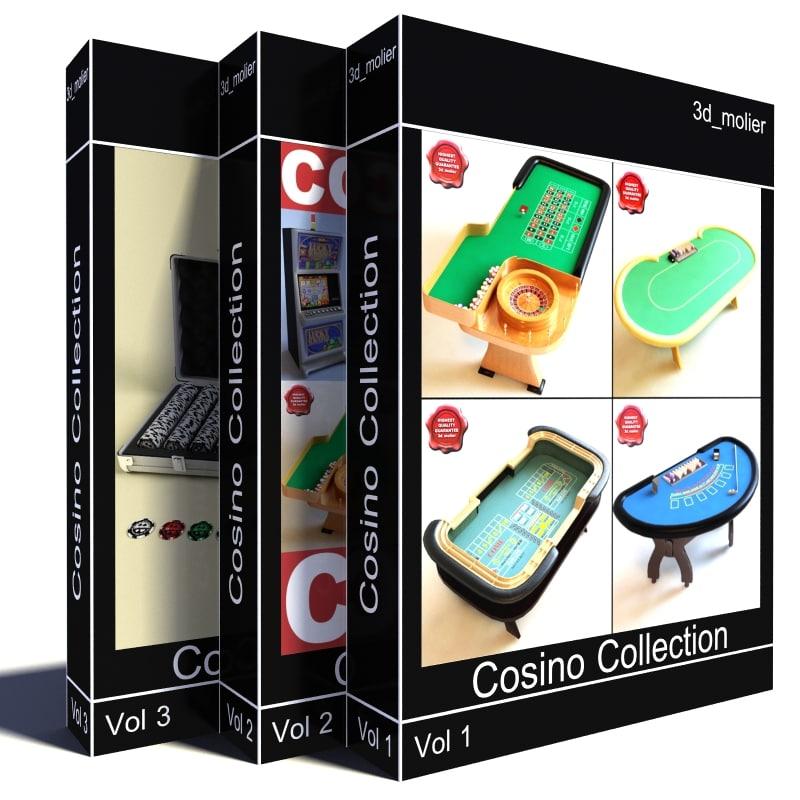 3d model v3 casino table