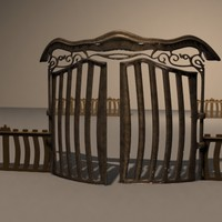 3ds max gate b
