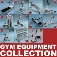 Gym Equipment Collection V1