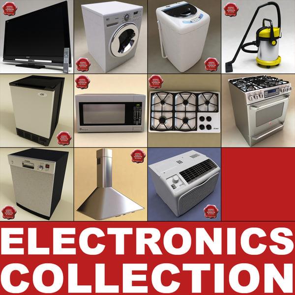 3d model home electronics v2