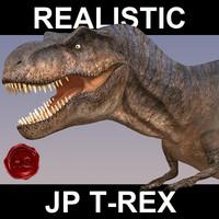 obj t-rex details