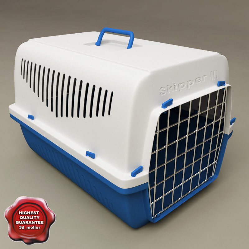 3ds max pet transport box