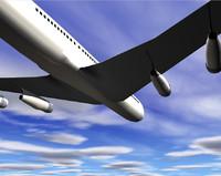 airline 3d model
