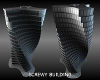 3d screwy building 2010
