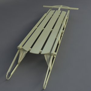 sled 3d model