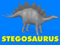 lightwave stegosaurus dinosaur