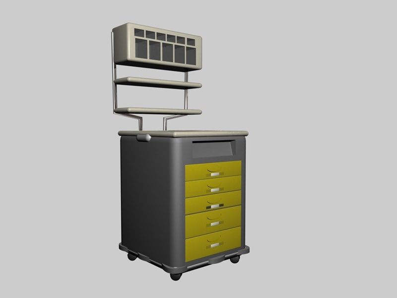 3ds max hospital container